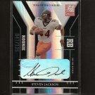 STEVEN JACKSON - 2004 Donruss Elite TOTC AUTOGRAPH Rookie - Falcons & Oregon State Beavers