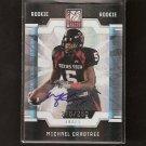 MICHAEL CRABTREE - 2009 Donruss Elite AUTOGRAPH Rookie - 49ers & Texas Tech Red Raiders