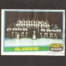 NEW YORK ISLANDERS 1980-81 Topps Mini Poster - Stanley Cup Champions - Bryan Trottier