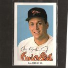CAL RIPKEN, JR. - Early 1990's Team Issued Post Card - Baltimore Orioles