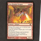 TWO-HEADED DRAGON - Magic the Gathering - OVERSIZE Box topper CARD