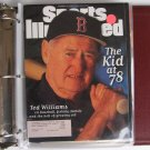 Sports Illustrated - TED WILLIAMS - Boston Red Sox