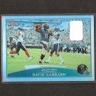 DAVID GARRARD - 2009 Topps Chrome REFRACTOR - East Carolina Pirates & Jaguars