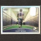 TONY ROMO - 2009 Topps Chrome REFRACTOR - Eastern Illinois & Cowboys
