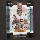 MARK SANCHEZ - 2009 Donruss Elite Autograph RC - Eagles & USC Trojans
