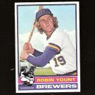ROBIN YOUNT - 1976 Topps - 2nd Year - Milwaukee Brewers