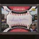 REGGIE JACKSON - 2007 SWEET SPOT Classic Autograph - New York Yankees, Athletics, Angels