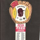1977 RICO CARTY Pepsi Glove Disc - COMPLETE DISC - Cleveland Indians