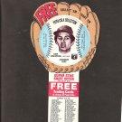 1977 DAVE CONCEPCION Pepsi Glove Disc - COMPLETE DISC - Cincinnati Reds