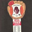 1977 DENNIS ECKERSLEY Pepsi Glove Disc - COMPLETE DISC - Cleveland Indians