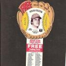 1977 GREG LUZINSKI Pepsi Glove Disc - COMPLETE DISC - Philadelphia Phillies