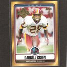 DARRELL GREEN - 2008 Topps Hall of Fame - Washington Redskins & Texas A & I