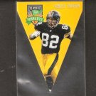 Yancey Thigpen - 1996 Playoff Contenders PENNANT - Steelers, Chargers & Oilers