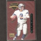 Rick Mirer - 1996 Playoff Contenders LEATHER - Seahawks, Bears & Notre Dame