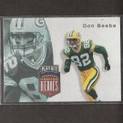 DON BEEBE - 1997 Playoff Unsung Heroes - Packers, Bills