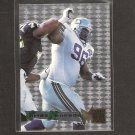 CORTEZ KENNEDY - 1995 Fleer Metal Silver Flasher - Seahawks & Miami Hurricanes