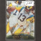 CHRIS MILLER - 1995 Pinnacle Trophy Collection - Rams, Falcons & Oregon Ducks