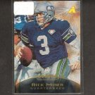 RICK MIRER - 1995 Pinnacle Trophy Collection - Seahawks & Notre Dame