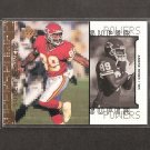 ANDRE RISON - 1998 Upper Deck Super Powers - Chiefs, Falcons & Michigan State Spartans