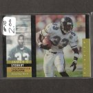 JAMES O. STEWART - 1995 SP Holoview ROOKIE - Lions, Eagles, Jaguars & Tennessee Volunteers