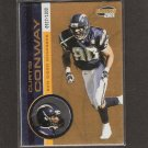 CURTIS CONWAY - 2001 Invincible Parallel - Chicago Bears &  USC Trojans