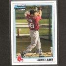 DANIEL NAVA 2010 Bowman Rookie - Red Sox