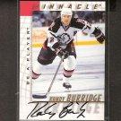 RANDY BURRIDGE - 1997-98 Be A Player AUTOGRAPH - Sabres, Bruins & Capitals