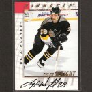 TYLER WRIGHT - 1997-98 Be A Player AUTOGRAPH - Penguins, Oilers & Blue Jackets