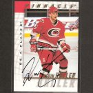 KEVIN HALLER - 1997-98 Be A Player AUTOGRAPH - Hurricanes, Flyers, Canadiens & Islanders