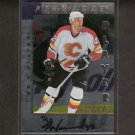 ED WARD - 1997-98 Be A Player DIE CUT AUTOGRAPH - Flames, Thrashers, Devils & Northern Michigan