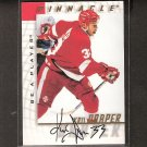 KRIS DRAPER - 1997-98 Be A Player AUTOGRAPH - Red Wings