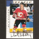 MARTY MURRAY - 1997-98 Be A Player AUTOGRAPH - Flames, Flyers, Hurricanes & Kings
