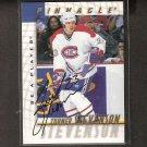 TURNER STEVENSON - 1997-98 Be A Player AUTOGRAPH - Canadiens, Devils & Flyers