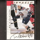 TRAVIS GREEN - 1997-98 Be A Player AUTOGRAPH - Islanders, Ducks, Bruins & Maple Leafs