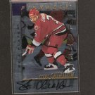 STEVE CHIASSON - 1997-98 Be A Player Die Cut AUTOGRAPH - Hurricanes, Red Wings, Whalers & Flames