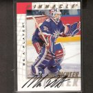 MIKE RICHTER - 1997-98 Be A Player AUTOGRAPH - New York Rangers