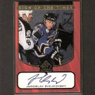 JAROSLAV SVEJKOVSKY - 1997-98 SP Authentic S.o.T. AUTOGRAPH - Capitals & Lightning
