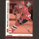 VINCENT LECAVALIER - 1997-98 UD Choice ROOKIE - Tampa Bay Lightning