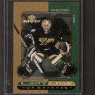 ED BELFOUR - 1998-99 Upper Deck MVP Last Lines - Stars, Blackhawks & Maple Leafs