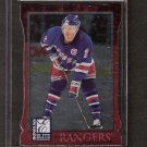 BRIAN LEETCH - 1997-98 Donruss Elite Aspirations - NY Rangers