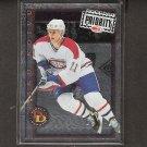 SAKU KOIVU 1997-98 Donruss Priority Direct Deposit - Canadiens & Anaheim Ducks