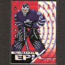FELIX POTVIN 1997-98 Pinnacle Epix Orange - Maple Leafs, Islanders, Canucks & Kings
