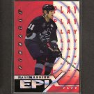 MARK MESSIER 1997-98 Pinnacle Epix Orange - Canucks, Rangers & Oilers
