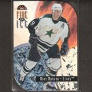 MIKE MODANO 1997-98 Leaf Fire on Ice - Stars & Red Wings