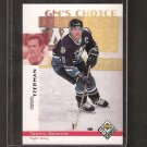 TEEMU SELANNE - 1998-99 UD Choice GM's Choice - Ducks & Sharks