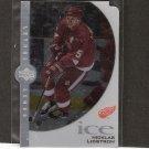 NiCKLAS LIDSTROM - 1997-98 Upper Deck Ice Lethal Lines - Detroit Red Wings