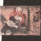 JANNE NIINIMAA - 1997-98 Donruss Limited Fabric of the Game - Flyers, Oilers & Islanders