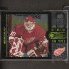 CHRIS OSGOOD - 1997-98 Donruss Between the Pipes - Red Wings, Islanders & Blues