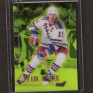 MARK MESSIER 1995-96 Select Certified Mirror Gold - Canucks, Rangers & Oilers