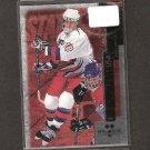 JESSE BOULERICE 1997-98 Double Black Diamond ROOKIE CARD - Hurricanes, Flyers & Penguins